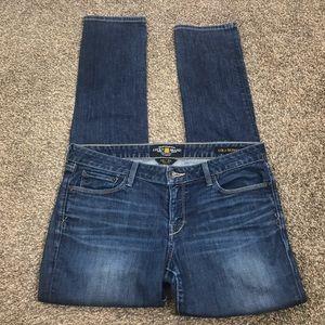 Lucky Brand Lola skinny medium wash jeans size 10